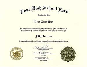 fake ged diploma free