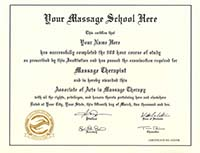 Fake Diplomas, Fake Massage Therapy Certificate