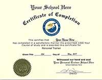 fake diplomas fake personal trainer certificate