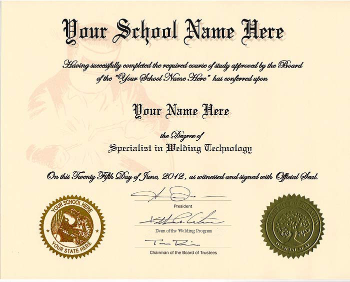 Fake Automotive Certificate Online In Usa - Diplomas And More
